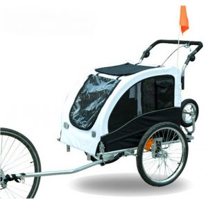 Find the right dog bike trailer