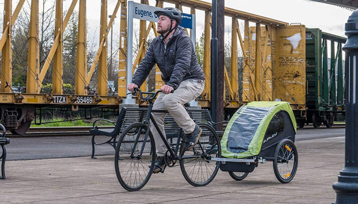 Burley Minnow Bike Trailer Review