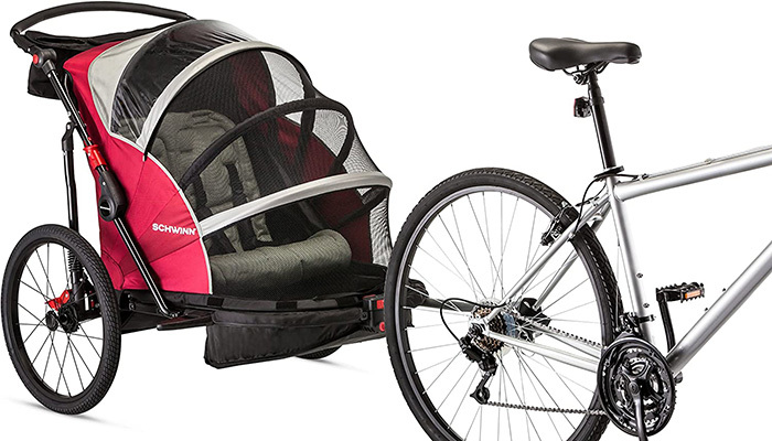 Schwinn Joyrider Bike Trailer Review